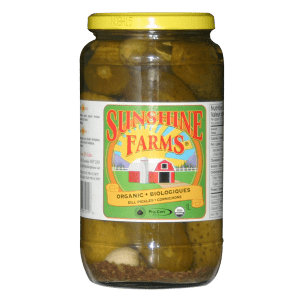 Sunshine Farms Dill Pickles