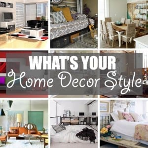What's Your Home Decor Style by Of Houses and Trees | Is your home decor style Coastal or Contemporary? Scandinavian or Shabby Chic? Art Deco, Industrial, Mid-Century Modern, Traditional?