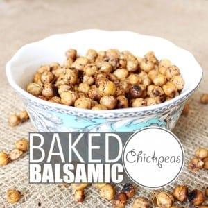 """Chickpeas are crazy versatile and so is my """"world famous"""" baked chickpeas recipe. Eat them warm out of the oven, as a cold snack, with salad, pasta or rice!"""