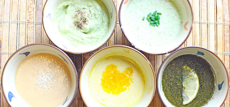 Healthy homemade salad dressing takes a bit of extra work, but the benefits are so worth it. Here are five of my favourites!
