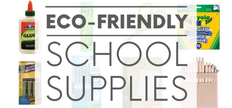 Green your school year by investing in eco-friendly school supplies such as binders made from recycled materials and glue made from natural ingredients.