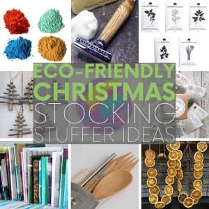 Who said stocking stuffer gifts can't be environmentally friendly? Hop aboard the green Christmas train with these thoughtful - and eco-friendly - gifts.