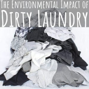 Want to create an eco-friendly laundry practice? Cut down on water use by washing your clothes less often - and invest in high-quality clothing basics.