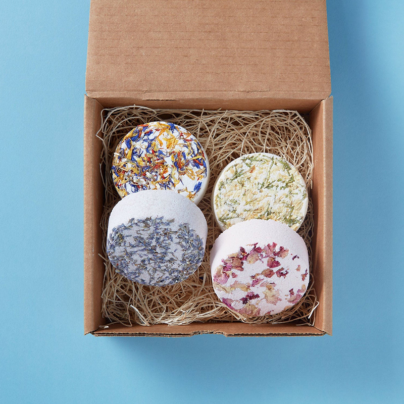 Plastic-free and made by awesome, earth-friendly individuals and brands, you can find zero waste gifts for every person on your shopping list. Like this bath bomb sampler for the bath lover in your life.
