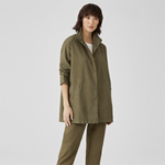 One of the easiest ways to start living a greener life is to quit fast fashion - and start supporting sustainable clothing companies like Eileen Fisher!
