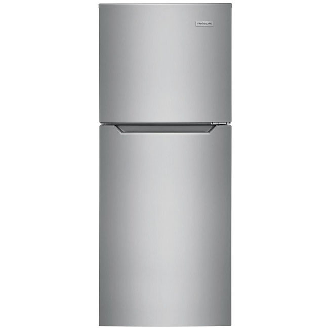 What's an eco-conscious kitchen without an energy efficient fridge? This Frigidaire 24