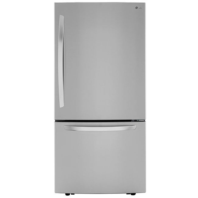 What's an eco-conscious kitchen without an energy efficient fridge? This LG 33