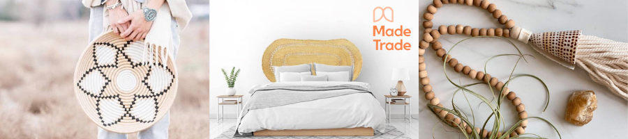 Shop Made Trade for ethically-elevated home decor, clothing, accessories and more.