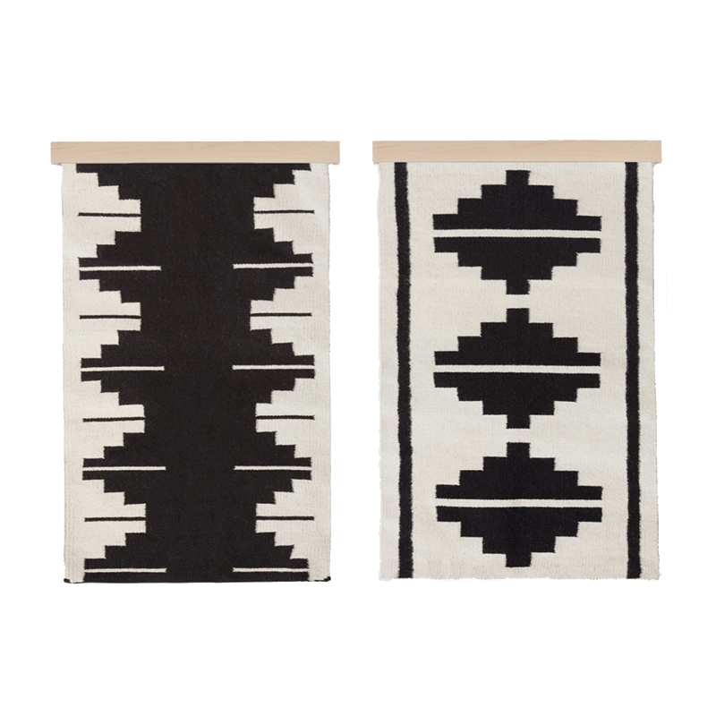 What is sustainable art and where exactly do you find it? Check out The Citizenry for pieces like these handwoven textiles made by a women's collective.