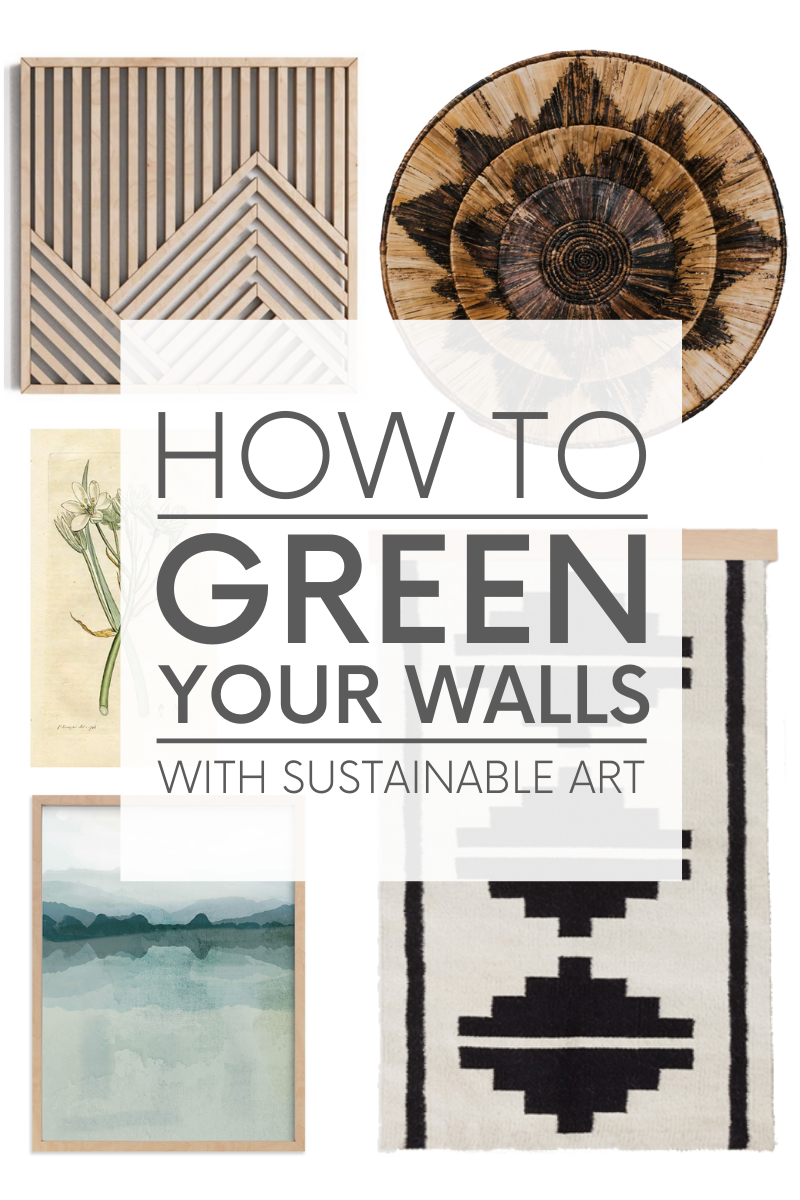 What is sustainable art and where exactly do you find it? Here are five things to keep in mind when selecting sustainable art and five places to buy it.