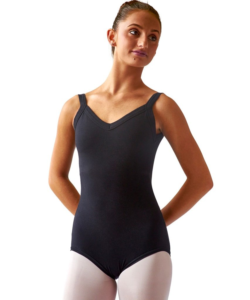 Want to be a green dancer? Consider investing in eco-friendly dance supplies such as this organic cotton leotard by SteelCore.