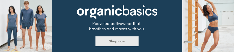 Organic Basics puts sustainable thinking at the center of everything. That means they only choosing fabrics that care for our environment and partnering with factories that care about their impact.